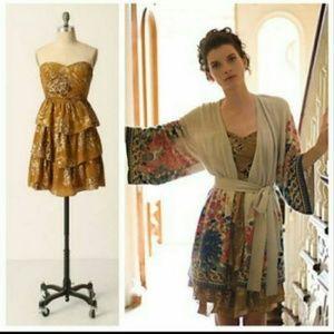 Moulinette Soeurs Golden Light Dress